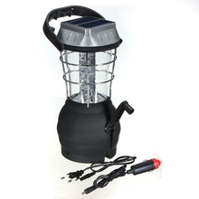 36 LEDs Camping Lantern Rechargeable Camping Light LED Flashlight Torch Tent Lamp Solar Power Light Outdoor Hiking Accesories