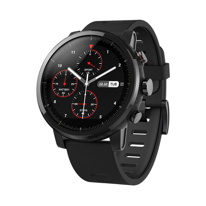 Amazfit Watch 2 Xiaomi Chip Alipay Bluetooth 4.2 4GB ROM IP57 Waterproof Smart Watch GPS Bidirectional Anti-Lost For IOS Android