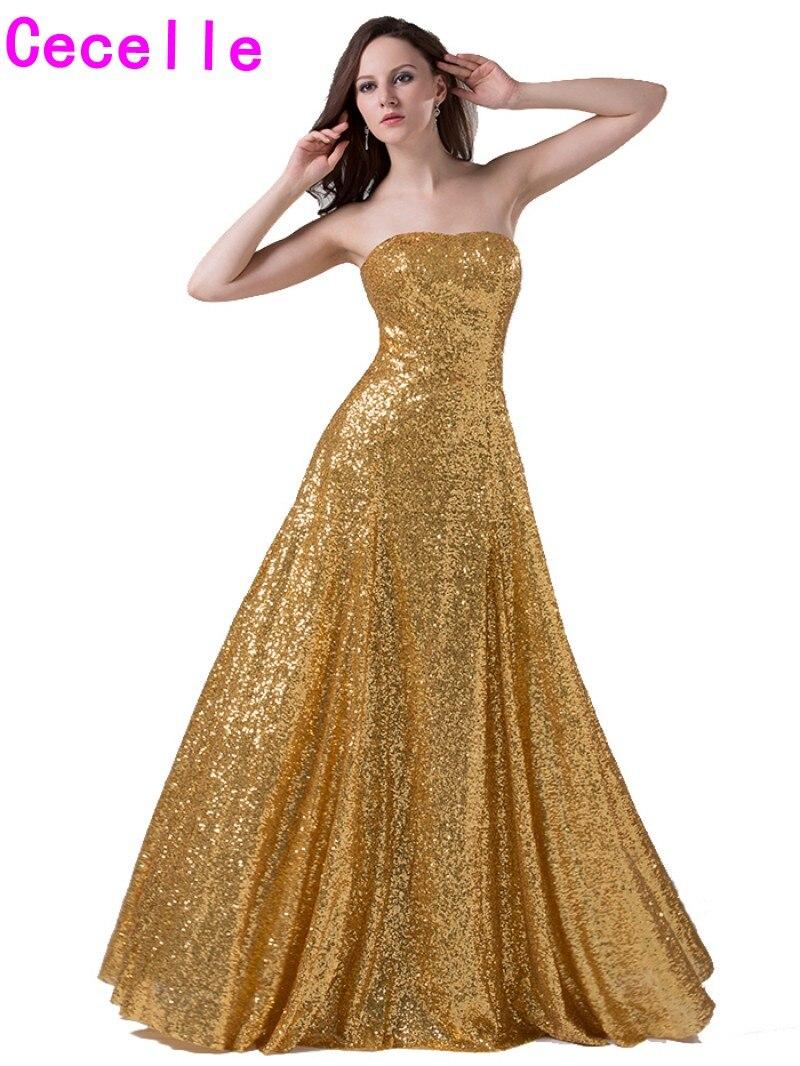 Popular Elegant Gold Evening Dresses-Buy Cheap Elegant Gold ...