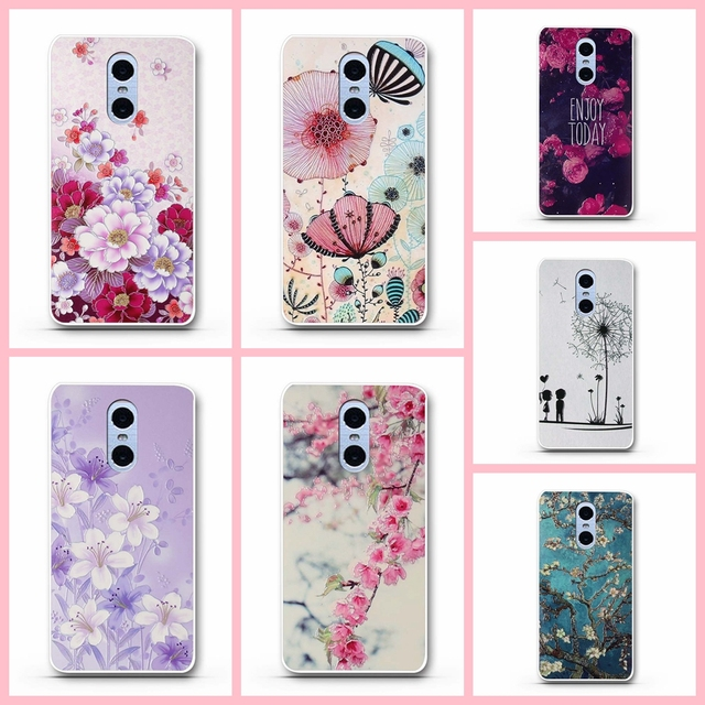 hot sale online a203e 9886d US $0.99 10% OFF|For Xiaomi Redmi Note 4 Case Soft TPU Back Cases for Redmi  Note Note 4 5.5
