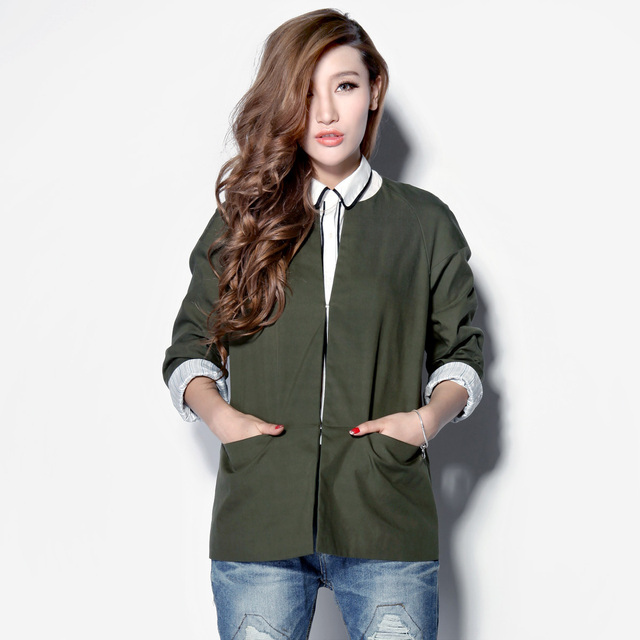 Fashion fashion female casual 100% cotton o-neck suit top spring and autumn