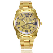 Top Brand Watch Men Luxury Gold  Stainless Steel Casual Clock Men's Watches Fashion 2019 Quartz Watches Man Reloj Hombre цена