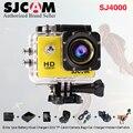Sj 4000 Оригинал sjcam sj4000 1080 P Действий Камеры 2 дюймов Экран Мини-Видеокамеры Подводный водонепроницаемая Видеокамера