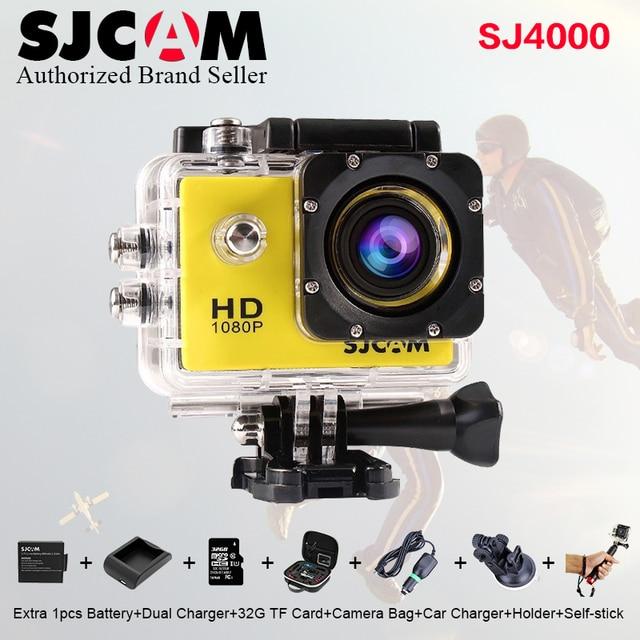 Sj 4000 Original sjcam sj4000 1080P Action Camera 2 inch Screen Mini Camcorder Underwater waterproof Camera Video Recorder