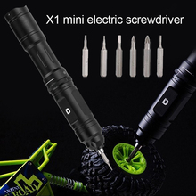 Aviation Aluminium X1 Low Noise Home Appliances Electric Screwdriver Mini Repair Tool High Torque Rechargeable