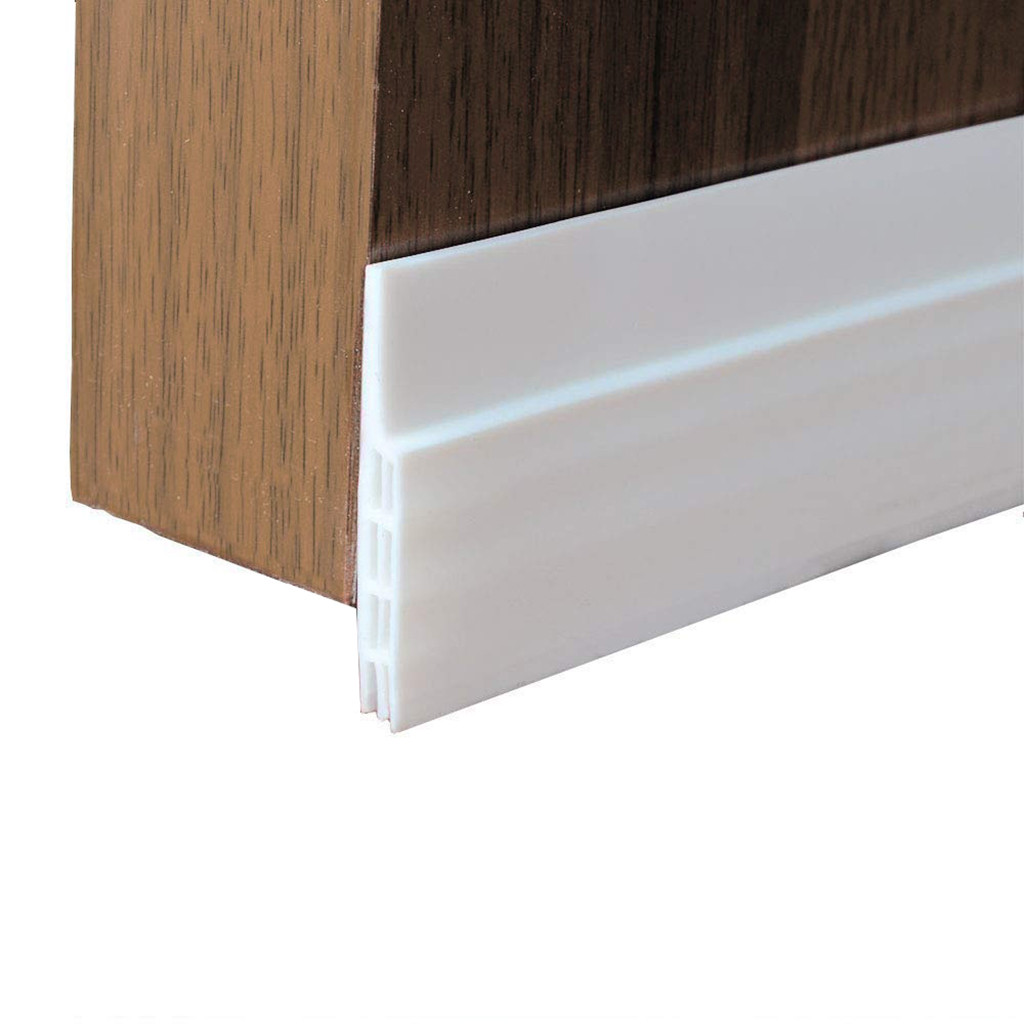 Weather Stripping Doors: Silicone Rubber Self Adhesive Doors Sealing Strip Under