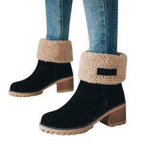 warm wool Boots women Female A