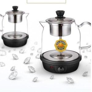 Image 3 - 自動インテリジェント調理器ガラス沸騰茶陶器電気ポットガラスティーポット