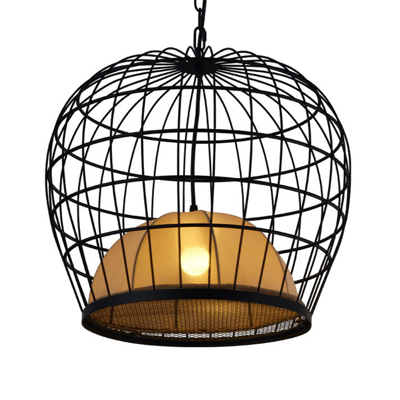 Aliexpress.com : Buy Cage Pendant Lamps Iron Bird Cage