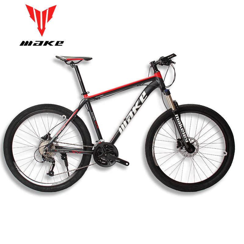 """MAKE горный велосипед алюминиевая рама SHIMAN0 AItus 27 скорость 26 """"27,5"""" 29 колесо гидравлический/механический тормоз"""