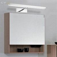 Ac110-240v現代l39/49/59センチステンレス鋼浴室寝室のキャビネットミラーライト壁ランプ伸縮浴室ミラーランプ