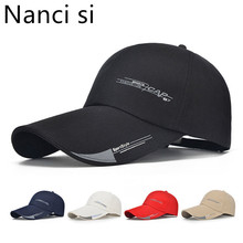 Nanci si Long Brim Shade Snapback Sports Cap Mens Hat For Fi