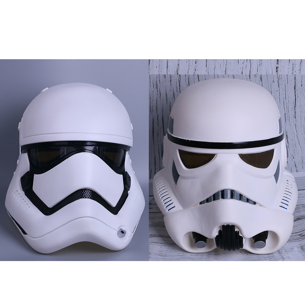 Free Shipping Cosplay Star Wars Imperial Stormtrooper Classic Force Awakens Rubies Deluxe Helmet Party Mask