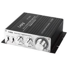 Lepy LP-2051 2*50 Вт 2CH Выход Мощность домашнего аудио Усилители домашние AMP AU HIFI Цифровой Легкий стерео Прочная Алюминий Для тела класса t