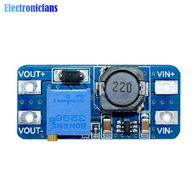MT3608 MAX 2A выход 28 V повышповышающий преобразователь усилитель мощности применение модуль усилитель силовой модуль для Arduino