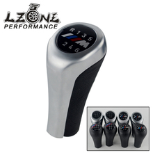 5 Speed 6 Speed Car Gear Shift Knob With M Logo For BMW 1 3 5 6 Series E30 E32 E34 E36 E38 E39 E46 E53 E60 E63 E83 E84 E90 E91