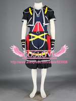High Quality Custom Made Sora Cosplay Costume from Kingdom Hearts Anime Christmas Holloween Plus Size (S 6XL)