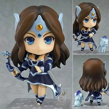 10cm DOTA2 Mirana Nendoroid the Priestess of the Moon action figure Toy Collection model movie Anime cartoon cute electronic pet