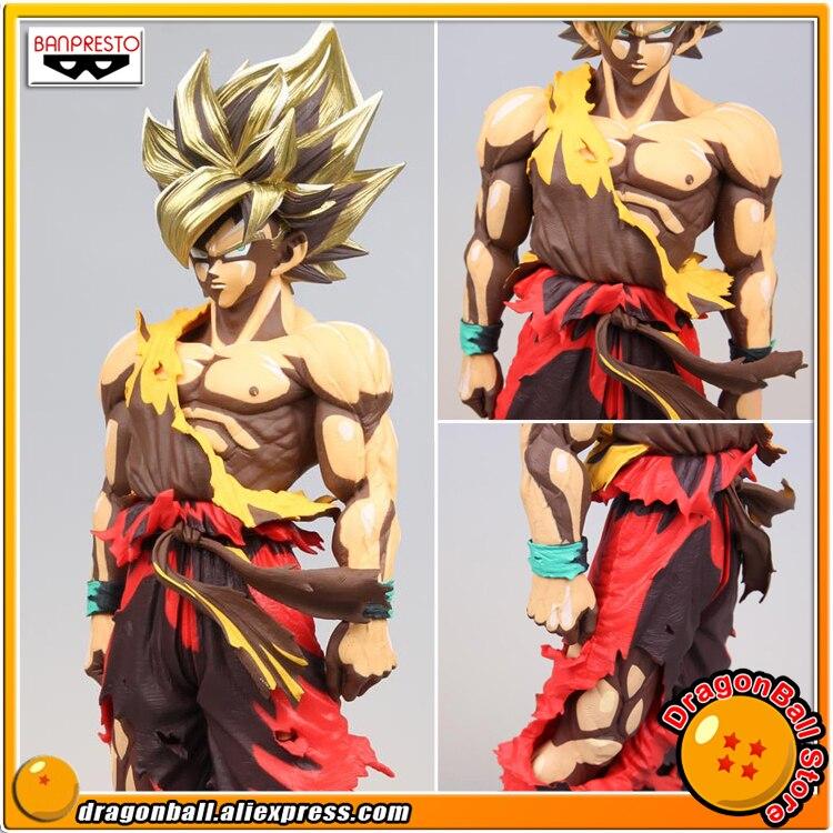 Dragon Ball Z Banpresto Super Master Stars Piece SMSP Figure Super Saiyan Gokou Manga Dimensions