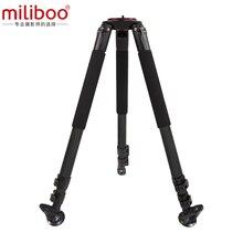 """Miliboo MTT703B trépied en Fiber de carbone pour appareil photo reflex numérique professionnel/support caméscope numérique porteur 25 kg hauteur Max 164 cm/63"""""""