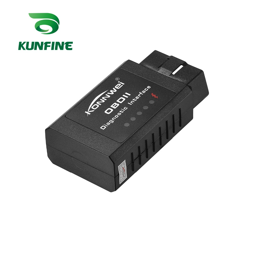 KW910 ELM327 Mini Car Scanner Code Reader Bluetooth Car Diagnostic Scan Tool Car Auto Error Tester For Android System
