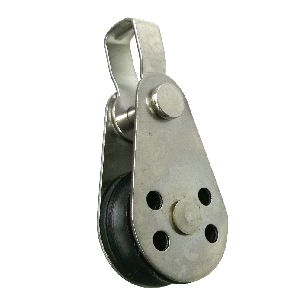 316 Stainless Steel Pulley Block For Sailboat Kayak Anchor Trolley Marine Boat Canoe Accessories