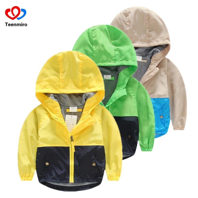 Kapucnis gyerekek Windbreaker Baby tavaszi dzsekik fiúknak Kabát lányok Ruhák gyerekek Felsőruházat Minnie Costume kisgyermek Blazer