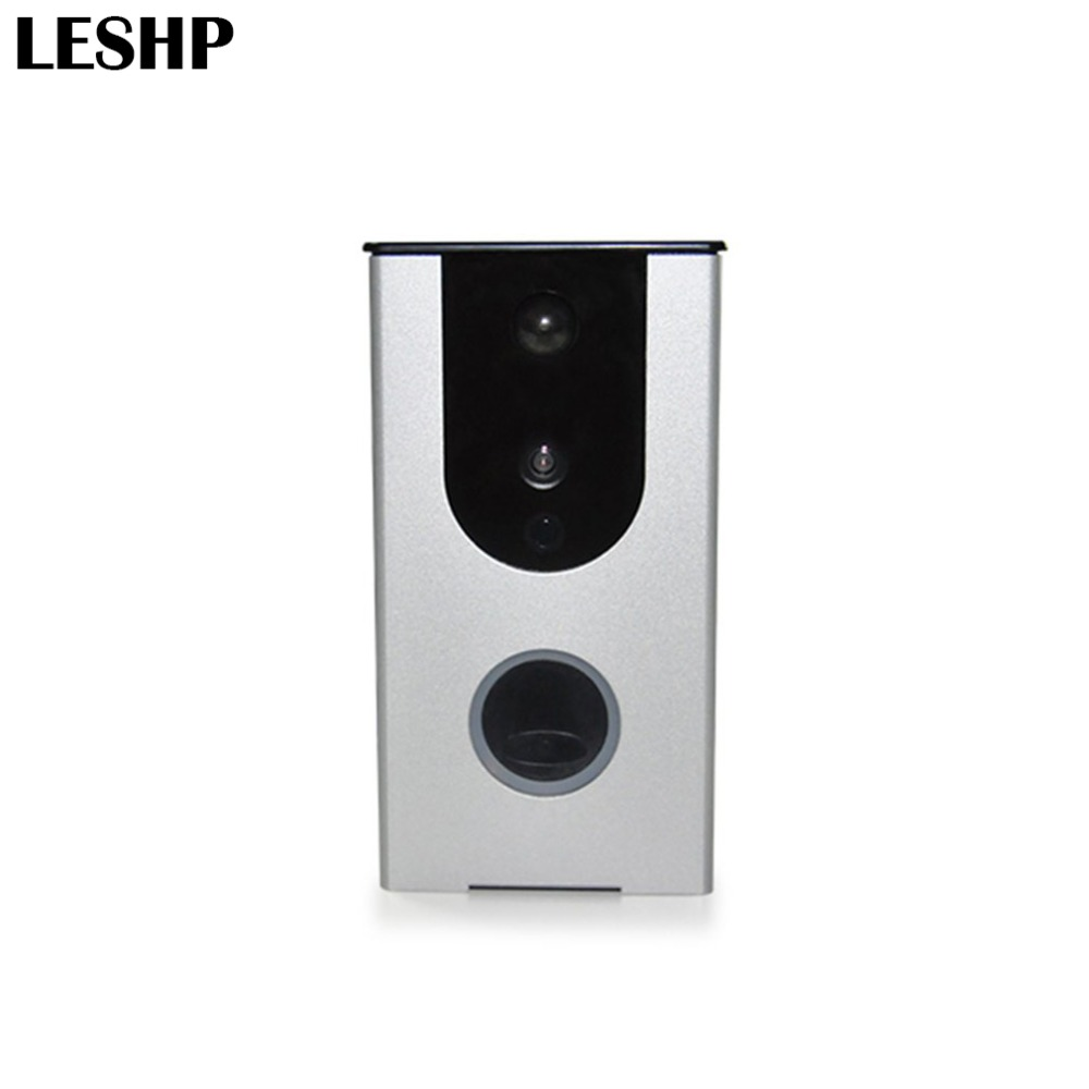 Wifi Video Doorbell HD Camera PIR Motion Detection Alarm Night Vision Wireless Home Door Intercom Support TF Card