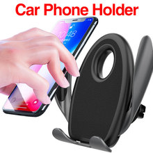 Universal Mobile Phone Bracket Phone Stand Gravity Car Holder for iPhone 6 7 8 Plus X XS Max XR for Samsung Xiaomi Huawei universal mini smart phone holder stand base for iphone 7 x xs max for xiaomi for oneplus candy color mobile phone bracket
