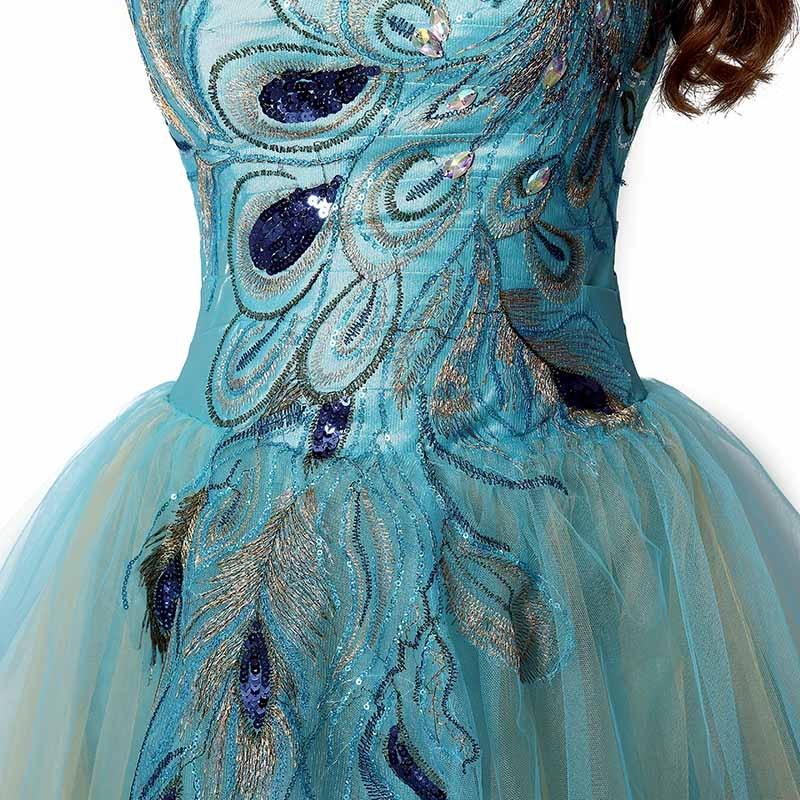 Tanie W magazynie Suknie Homecoming Crystal Sweetheart Sukienka - Suknie specjalne okazje - Zdjęcie 5