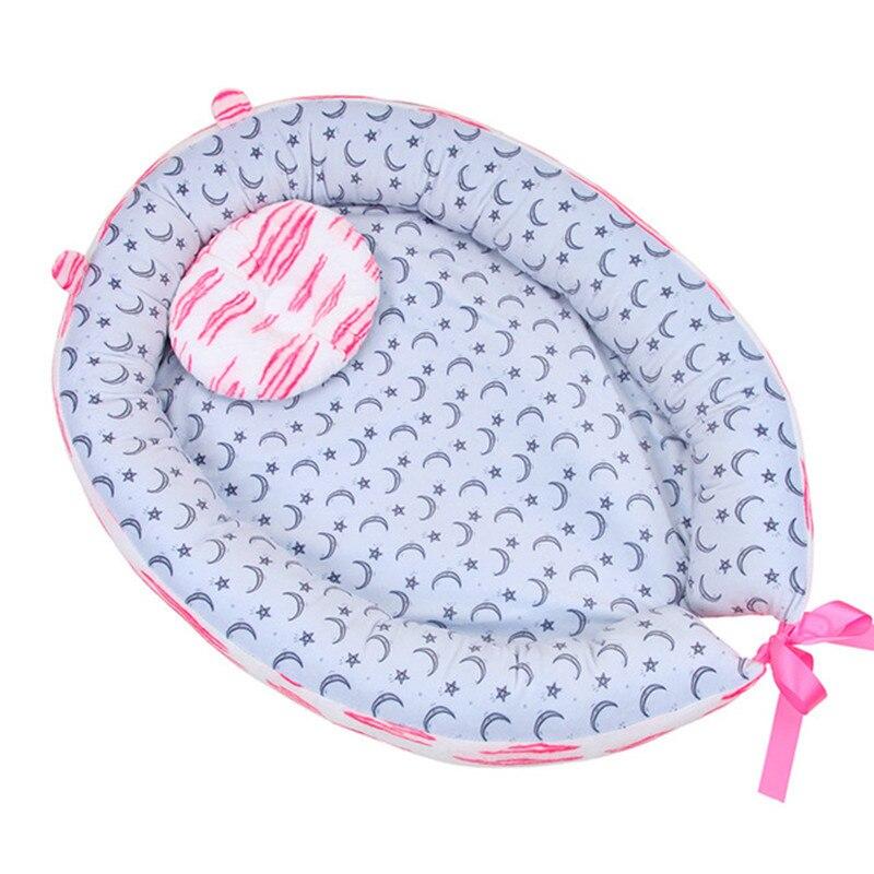 Baby Nest Bed Newborn Milk Sickness Bionic Bed Crib Cot Sleeping Artifact Bed Travel Bed With Bumper Baby Sleep Accessories