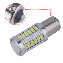 1pcs 1156 BA15S P21W led 5630 5730 smd Car Tail Bulb Brake Lights auto Reverse Lamp Running Light For peugeot 206(China)