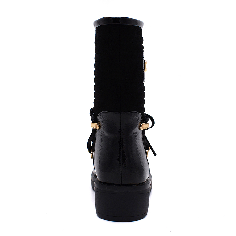 Botte Chaussures De 35 red Mode Au D'hiver Fur With Bottes Fur 40 Femmes Grande Dropship Doratasia black mollet Black Wine Neige 2018 Femme red Taille Garder Chaud Mi Wine FwtxaYP8q