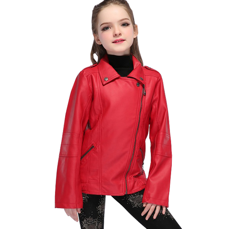 Grandwish-Children-PU-Leather-Jacket-Boys-Autumn-Leather-Coat-Girls-Spring-Jacket-Children-Solid-Casual-Outerwear-3T-14T-SC552-4