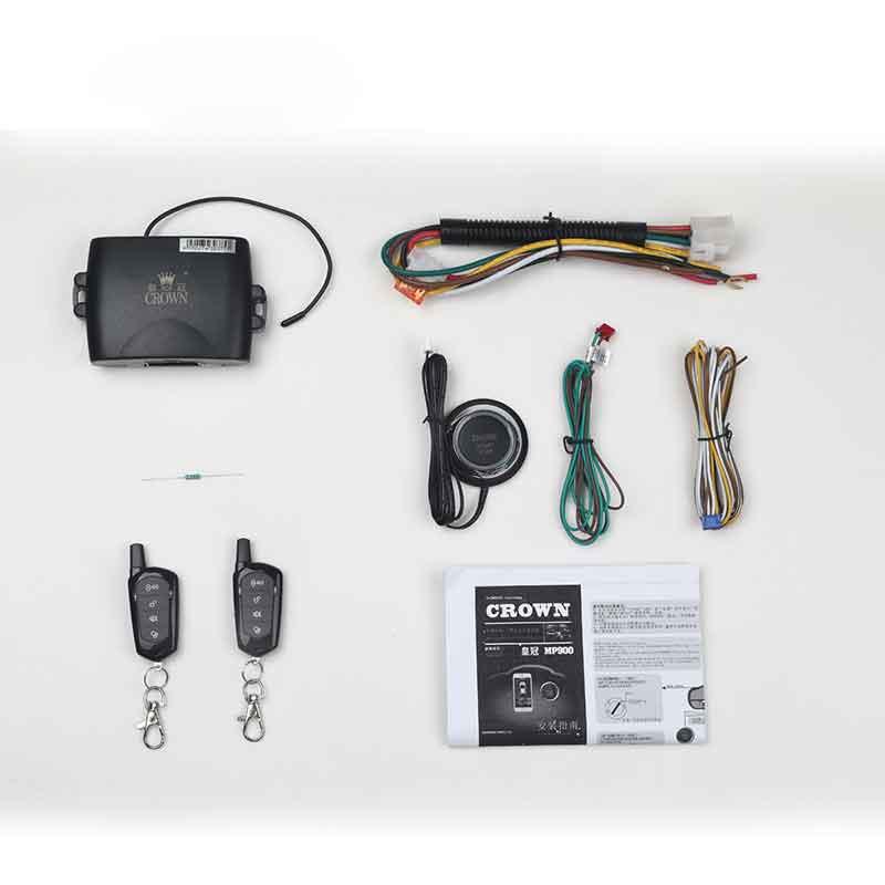 Alarme de démarreur de voiture à distance système d'alarme automatique tomahawk système d'entrée sans clé bouton d'arrêt de démarrage alarme de voiture à verrouillage central à distance