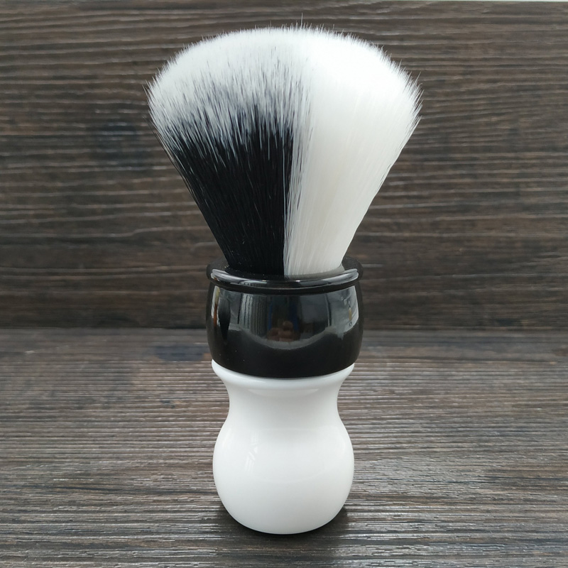 Dscosmetic 26mm New YIN/YANG Soft And Good Backbone Synthetic Hair Shaving Brush For Man Shaving