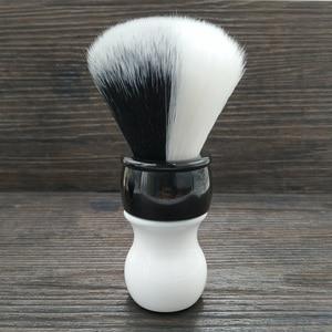 Image 1 - Dscosmetic 26mm new YIN/YANG soft and good backbone synthetic hair shaving brush for man shaving
