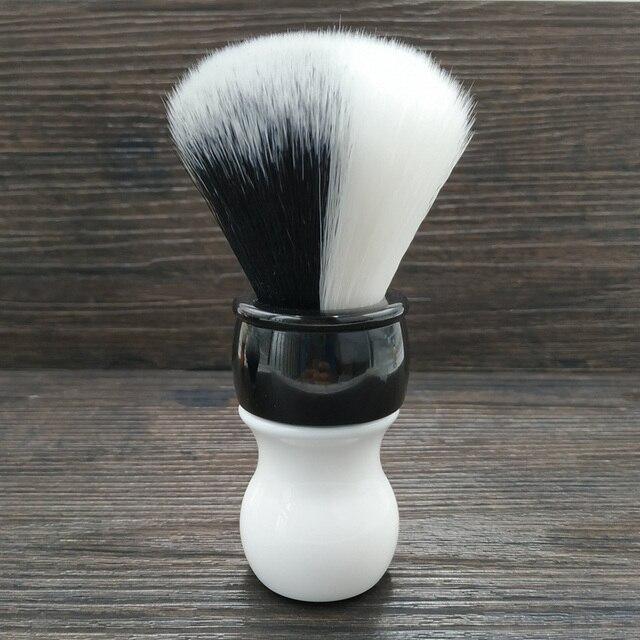 Dscosmetic 26mm new YIN/YANG soft and good backbone synthetic hair shaving brush for man shaving