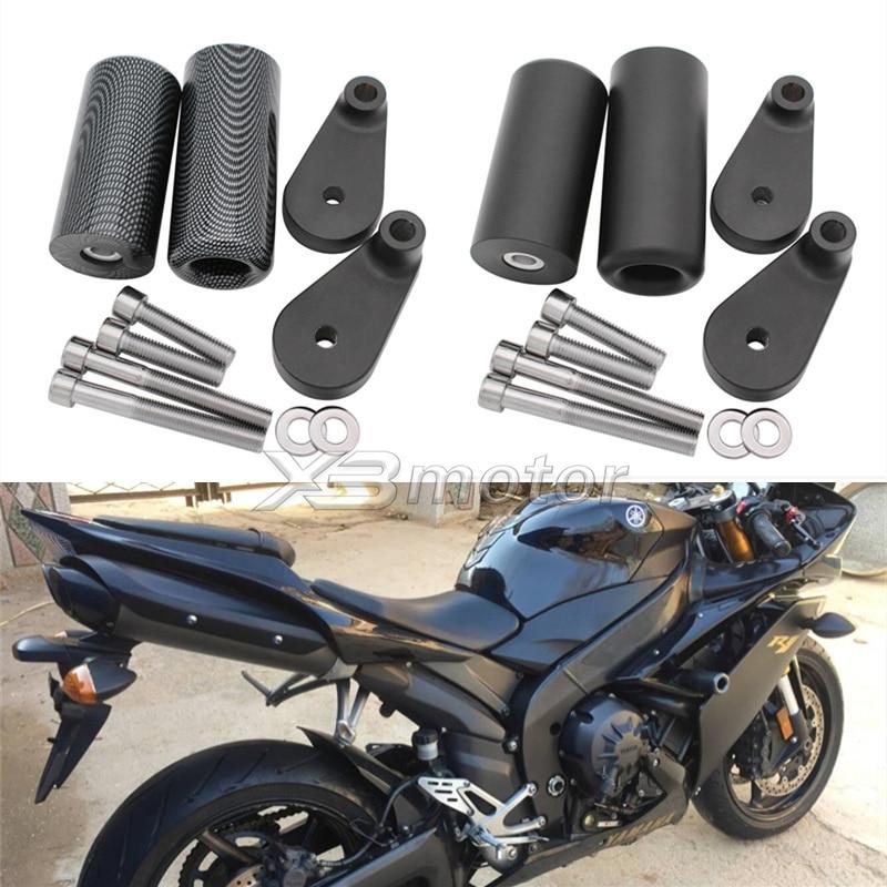 For Yamaha YZF-R6 2008-2009 Carbon Frame Sliders Crash Falling Protector