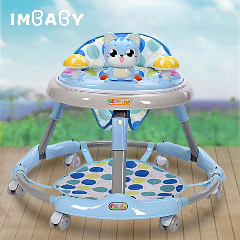 IMBABY Baby Walker With Wheels Andador Walkers for kids Car Toddler Walker for Kids Learning Baby