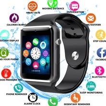 A1 Smart Watch Smartwatch Bluetooth Wrist Sport Watch SIM TF Phone Camera WristWatch For Apple iPhone Android Samsung Men Wach