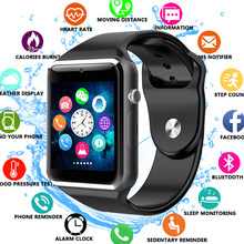 A1 Smart Watch Smartwatch Bluetooth Wrist Sport Watch SIM TF Phone Camera WristWatch For Apple iPhone Android Samsung Men Wach(China)