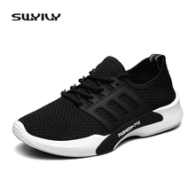 SWYIVY 2017 New Arrive Men Running Shoes For Best Trends Run Athletic Trainers Zapatillas Sports Shoes Men Size 39-44