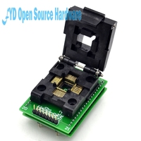 Top Quality LQFP44 TQFP44 To DIP40 Adapter QFP44 Adpater Test Block For AVR ISP Interface IC