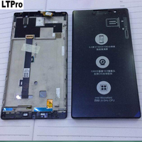 100 Warranty NEW Black Full LCD Display Touch Screen Digitizer Assembly For Lenovo K80 K80M Replacement