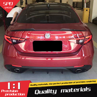 For Alfa Romeo Giulia Spoiler Carbon Fiber Car Rear Wing Spoiler For Alfa Romeo GiuliaSpoiler