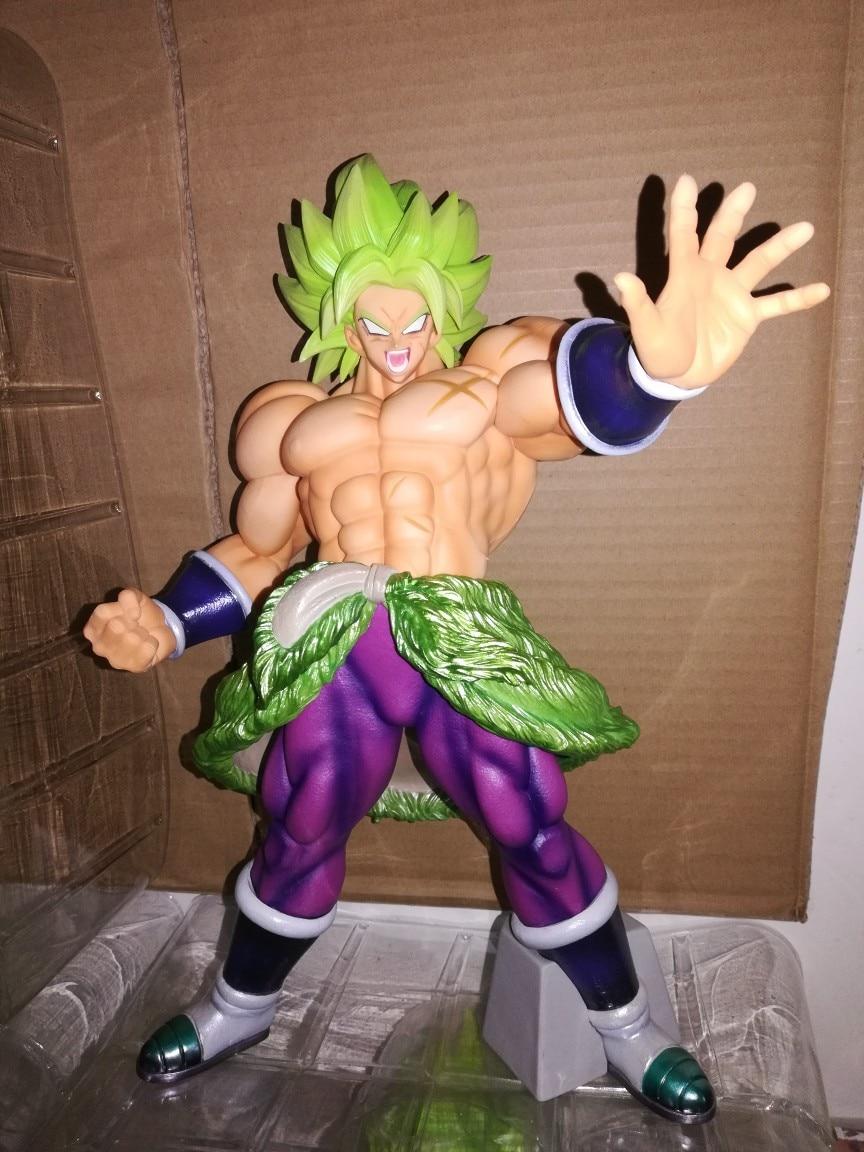 Большая Оригинал Banpresto экшн фигурка Dragon Ball Супер Saiyan Broly Broli ПВХ фигурка модель игрушки фильм Borly фигурки - 2