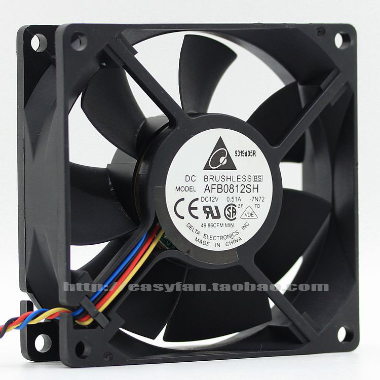 popular cpu cooling fan wiring buy cheap cpu cooling fan wiring new  original afb0812sh 8025 12v
