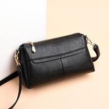 купить 2019 Luxury small shoulder bag for women messenger bags ladies retro Business Genuine leather handbag purse female crossbody bag дешево