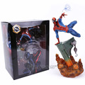 Sideshow Marvel Spiderman The Amazing Spider-man PVC Figure Collectible Modelo Toy 2 Cores 29 cm